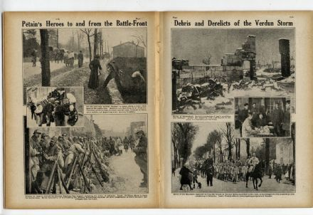 1916 World War WW1 Magazine FLORA ANNIE STEELE Verdun DE FONT REAUX (4800)